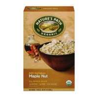 Nature's Path Organic Hot Oatmeal - Maple Nut - 8 CT 14 OZ