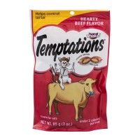 Whiskas Temptations Cat Treats - Hearty Beef 3 OZ