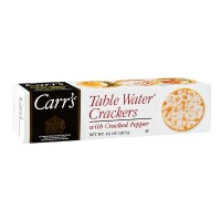 Carr's Table Water Crackers - Cracked Pepper 4.25 OZ