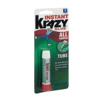 Krazy Glue Instant All Purpose Glue Tube 0.07 OZ