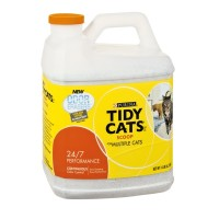 Tidy Cats Litter for Multiple Cats - Clumping - 24/7 Performance (Container) 14 LB