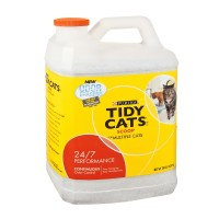Purina Tidy Cats Litter for Multiple Cats - Clumping - 24/7 Performance (Container) 20 LB