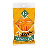 BiC Sensitive Shavers - 12 CT