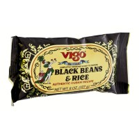 Vigo Authentic Cuban Recipe - Black Beans And Rice - 8.0 OZ