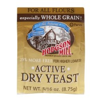 Hodgson Mill Active Dry Yeast For All Flours 5/16 OZ