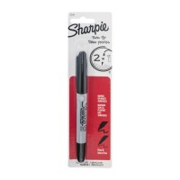 Sharpie Twin Tip Fine & Ultra Fine Permanent Marker 1.0 CT