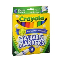 Crayola Washable Markers - 8 CT