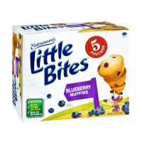 Entenmann's Little Bites Blueberry Muffin Pouches - 5 CT 8.25 OZ