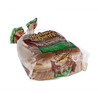 Nature's Own Sandwich / Hamburger Rolls - 100% Whole Wheat - 8 CT 15.0 OZ
