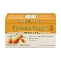 Bigelow Herbal Tea Perfect Peach - 20 CT 1.37 OZ