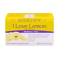 Bigelow Herbal Tea - I Love Lemon - 20 CT 1.28 OZ