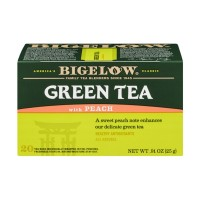 Bigelow Green Tea With Peach - 20 CT 0.91 OZ