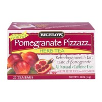 Bigelow Pomegranate Pizzazz Caffeine Free Herbal Tea - 20 CT 1.18 OZ