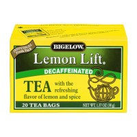 Bigelow Black Tea - Decaffeinated Lemon Lift - 20 CT 1.37 OZ