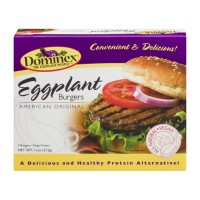 Dominex Eggplant Burgers Original - 11.0 OZ