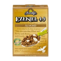 Food For Life Ezekiel 4:9 Organic Sprouted Grain Crunchy Cereal -Almond - 16 OZ