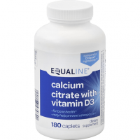 Equaline Calcium Citrate with Vitamin D3 180ct