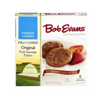 Bob Evans Original Pork Sausage Patties - Fully Cooked  8ct / 9.6 OZ