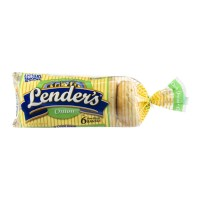 Lenders Pre-Sliced Bagels Onion - 6 CT / 12.0 OZ
