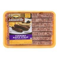 Johnsonville Vermont Maple Syrup Breakfast Sausage Links 12 OZ