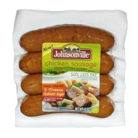 Johnsonville Chicken Sausage Three Cheese Italian Style 12 OZ