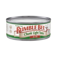 Bumble Bee Premium Chunk Light Tuna in Oil (Can) 5 OZ
