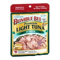 Bumble Bee Premium Light Tuna in Water (Pouch) 2.5 OZ