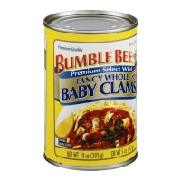 Bumble Bee Fancy Whole Baby Clams 10.0 OZ