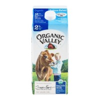 Fresh Milk Organic Valley 2% - .5 GL
