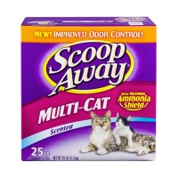 Scoop Away Scented Scoopable Cat Litter - Multi Cat 25 LB