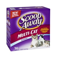 Scoop Away Scented Scoopable Cat Litter - Multi Cat 14 LB