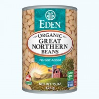 Eden Organic Great Northern Beans 15 OZ
