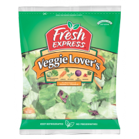 Salad - Fresh Express Veggie Lovers - 11 OZ