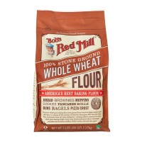 Bob's Red Mill Whole Wheat Flour - 100% Stone Ground - 5 Lbs