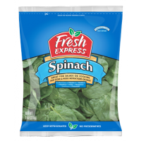 Salad Fresh Express Spinach - 8 OZ