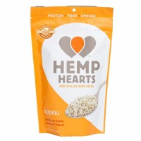 Manitoba Harvest All Natural Hemp Hearts - Raw Shelled Hemp Seeds 8 OZ