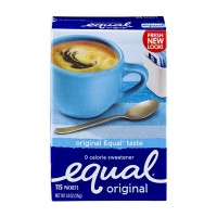 Equal Original 0 Calorie Sweetener Packets - 115 CT 4.1 OZ
