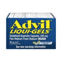 Advil Ibuprofen 200mg Liqui-Gels - 20 CT