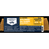 Garrett Valley Farms Applewood Dry Rubbed Bacon 18oz