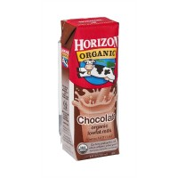 Shelf Stable Milk Horizon Organic LF Chocolate - 8 OZ