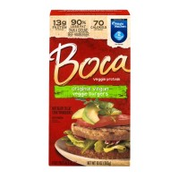 Boca Meatless Original Vegan Veggie Burgers - 4CT / 10 OZ