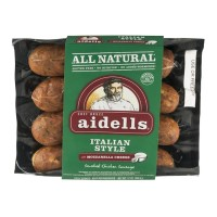 Aidells Italian Style Smoked Chicken Sausage with Mozzarella Cheese 12 OZ