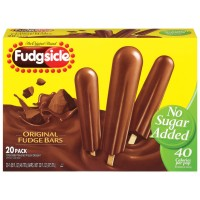 Fudgsicle Fudge Pops The Original - No Sugar Added - 20 CT