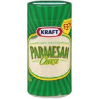 Kraft Parmesan Cheese - Grated (8oz)