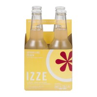 Izze All Natural Sparkling Peach - 4 CT / 12.0 FL OZ