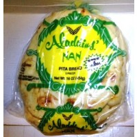 Aladdins Naan Pita Bread 16 OZ