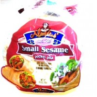 Aladdins Pita Sesame Small 8.3 OZ