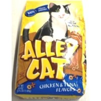 Alley Cat Chicken and Tuna Dry Cat Food 3.15 LB