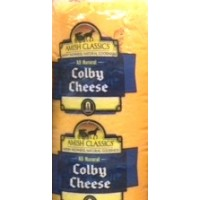 Amish Colby Cheese - Deli Sliced Regular (8oz)