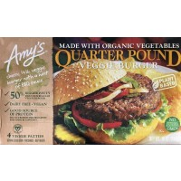Amy's California Veggie Burger - 4 CT /  16.0 OZ